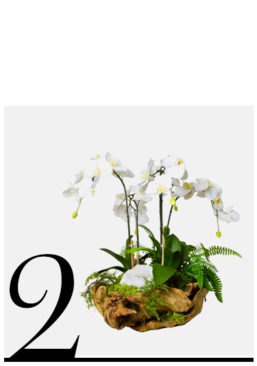 Orchid-and-White-Geode-in-Wood-Bowl-TC-Floral-Company-white-artificial-flower-arrangements-top-10