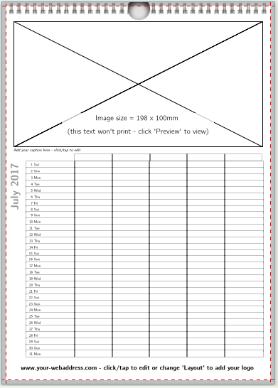 A4 Family Planner