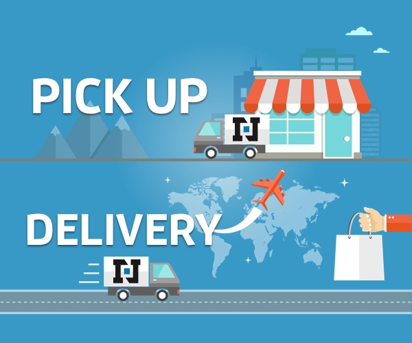 Image result for pickup and delivery service