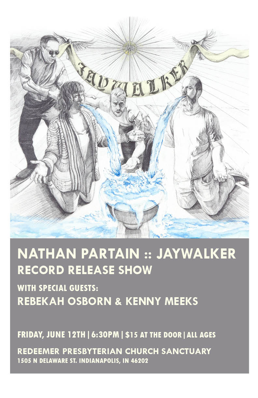 Jaywalker - Record Release Poster