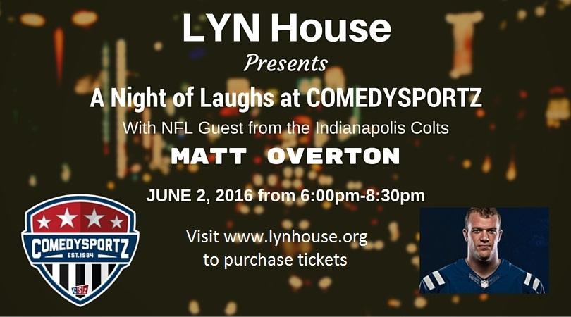 Lyn House - Comedy Night Ad
