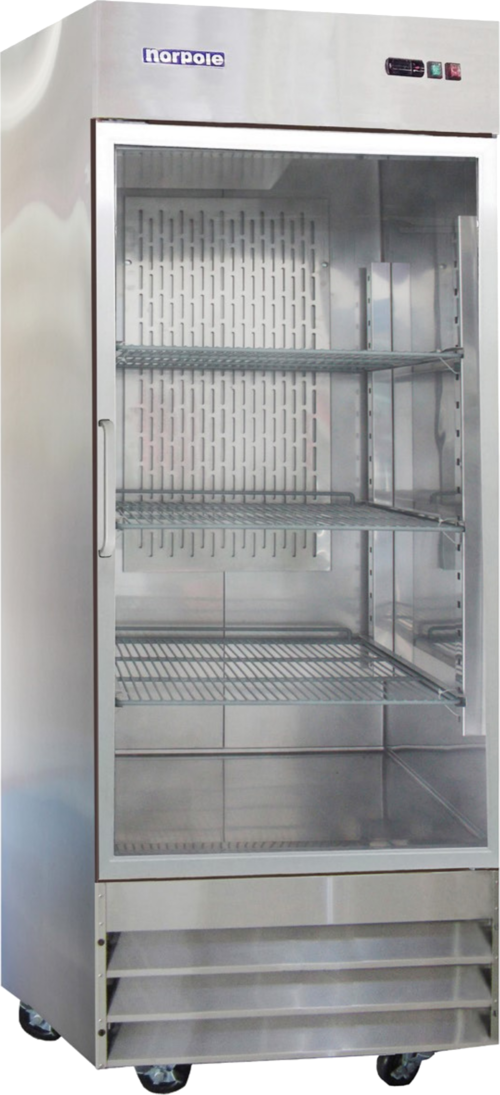 1 Glass Door Upright Reach In Refrigerator St Charles Restaurant