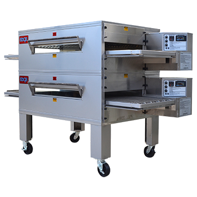 Edge 2460 Double Stack Gas Conveyor Pizza Oven St
