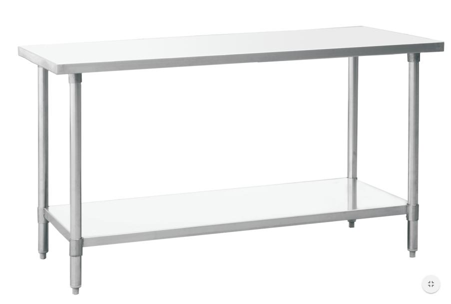 Work Tables St Charles Restaurant Equipment - Restaurant equipment stainless steel table