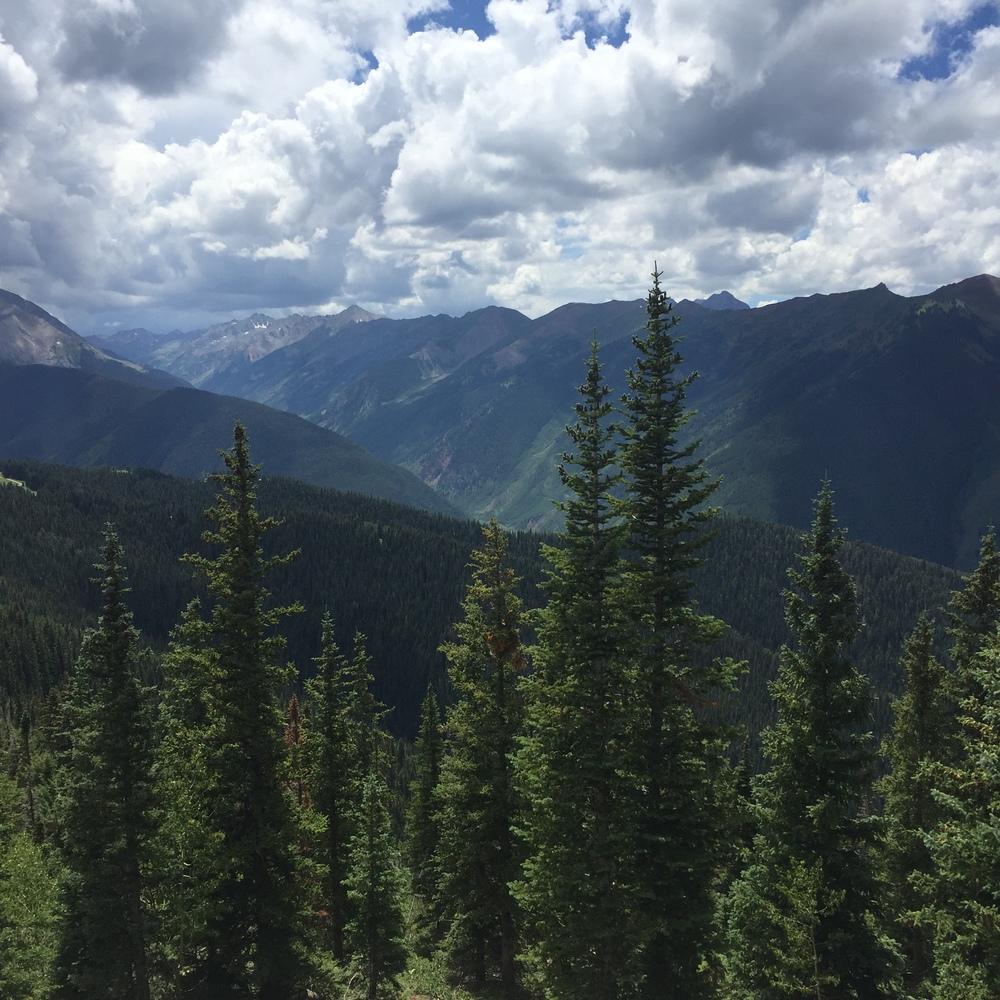 top of Aspen mountain
