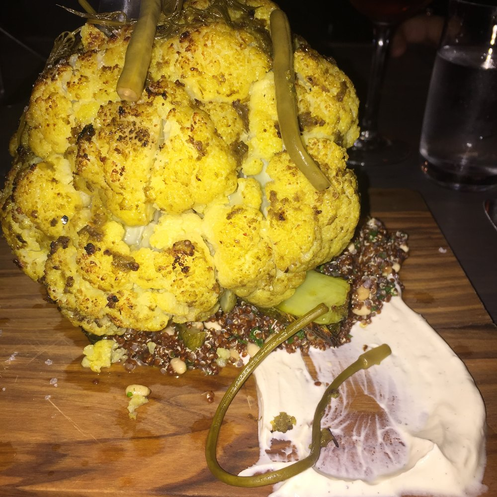 Aspen Kitchen roasted cauliflower