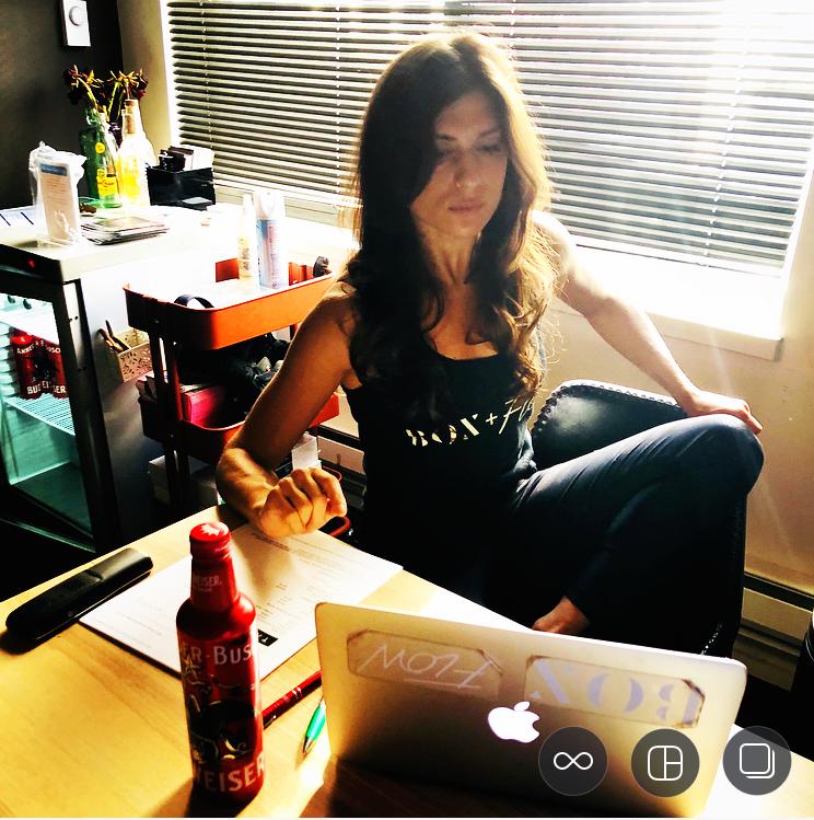 box + flow + beer. #balance