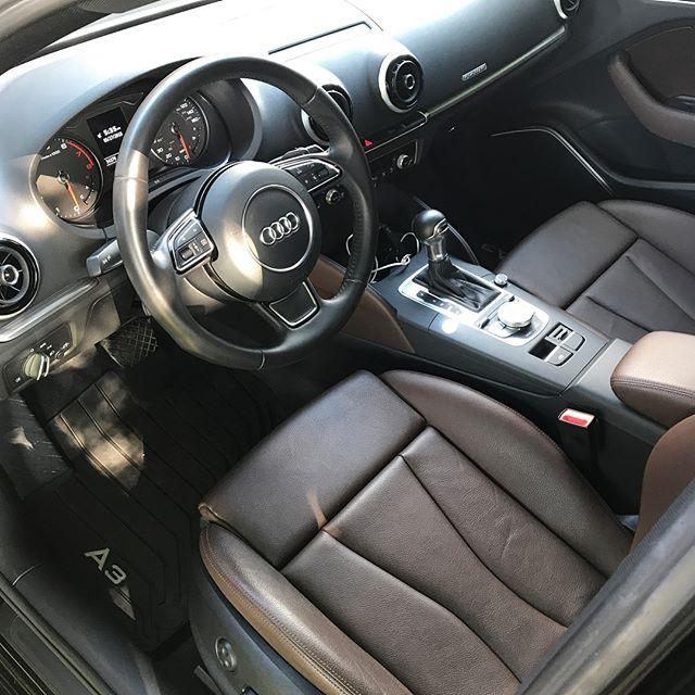 Project: 2015 Audi A3 Quattro Service: Renew Interior Package #autodetailing #dallasautosalon #dallas #detailing #detailersofinstagram #detailersofig #detailers #carsofinstagram #shineprotectrestore