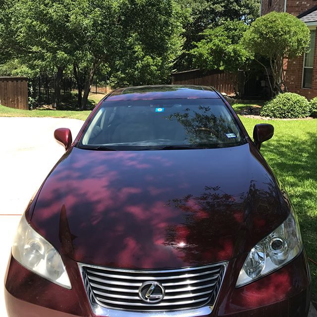 Project: 2007 Lexus ES350 Service: Protect Exterior Package / Clean Interior Package / Headlamp Restoration / Engine Detail #autodetailing #dallasautosalon #dallas #detailing #detailersofinstagram #detailersofig #detailers #carsofinstagram #shineprotectrestore