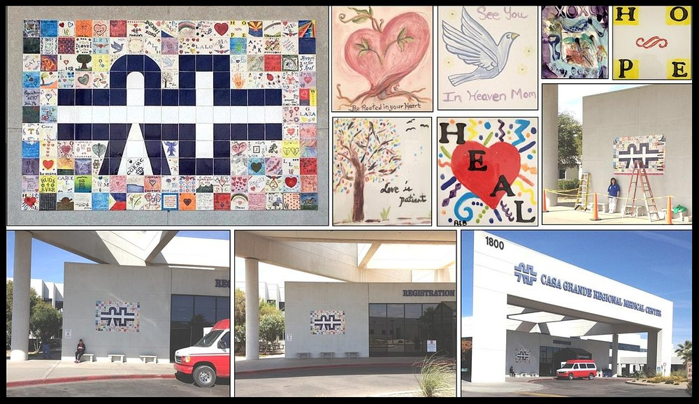 Tiles of Compassion Healing Wall   - Casa Grande Regional Medical Center