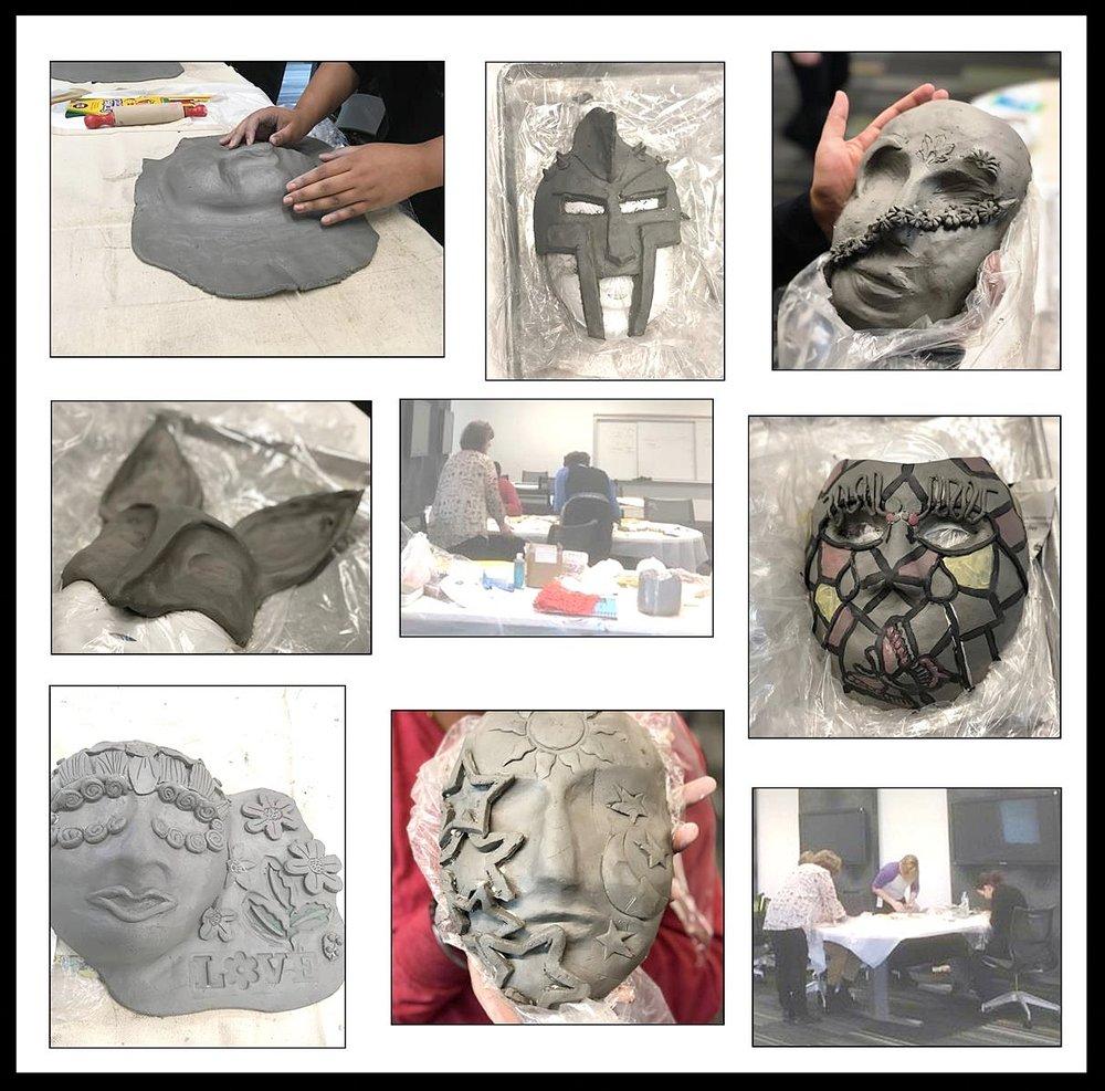 Clay Mask Workshop - The University of Arizona College of Medicine-Phoenix