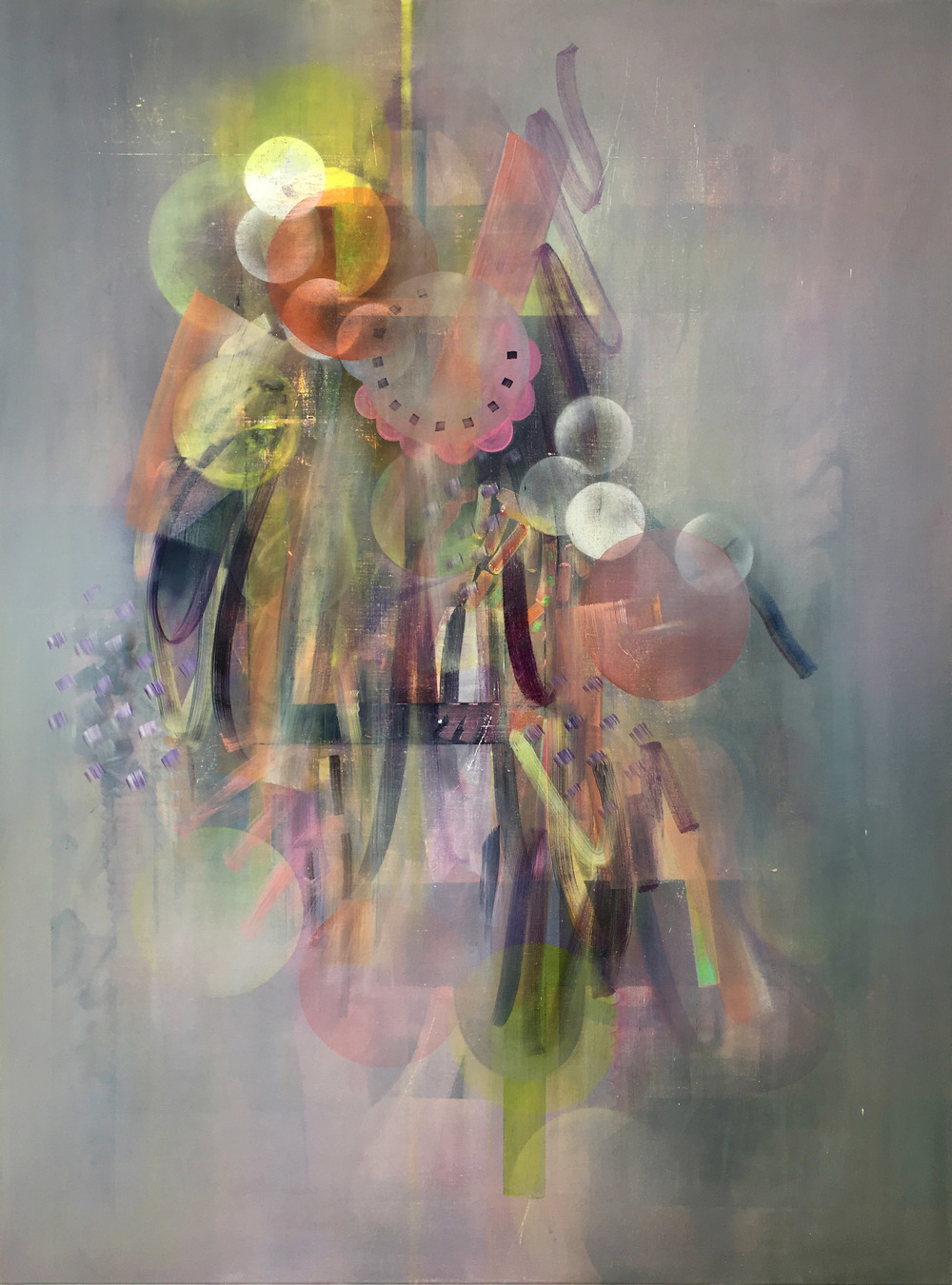 Untitled 7, oil on canvas, 120cm x 90cm, 2016