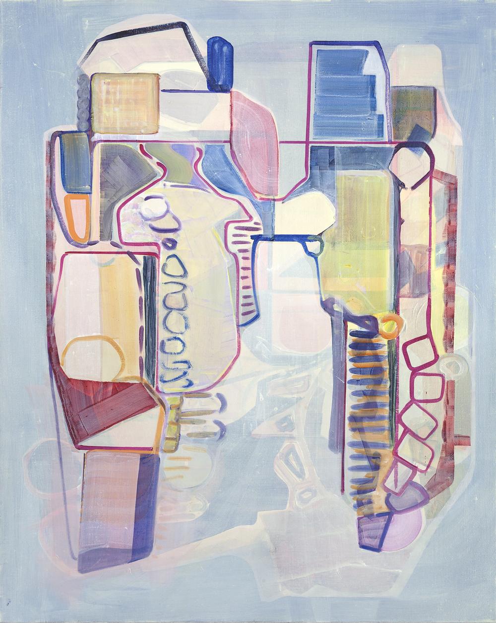 Constructor, oil on canvas, 65cm x 47cm, 2013