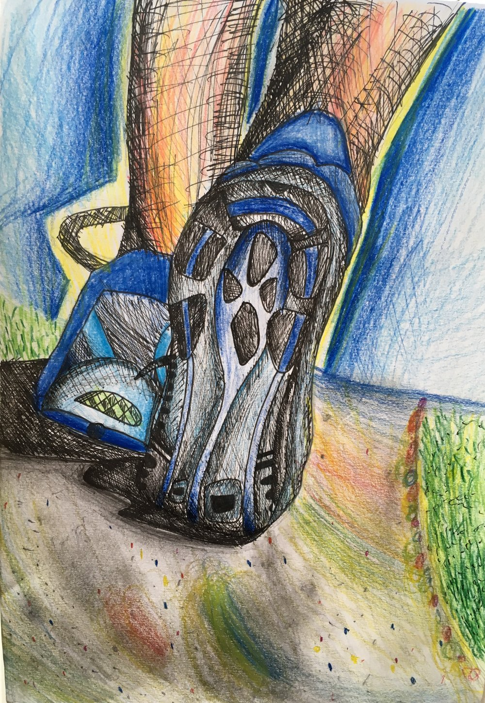 Karl Mc Inerney's picture which won Poster Competition
