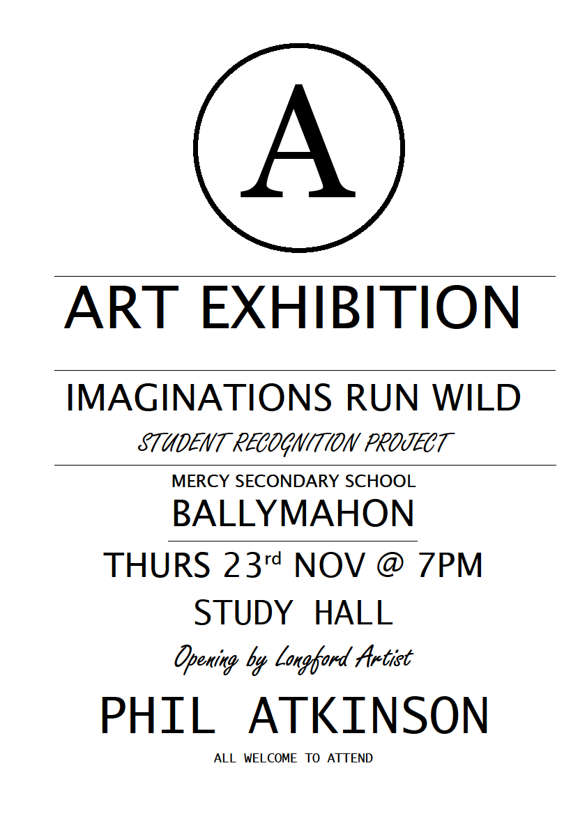 mercy ballymahon art exhibition poster 2017#.png
