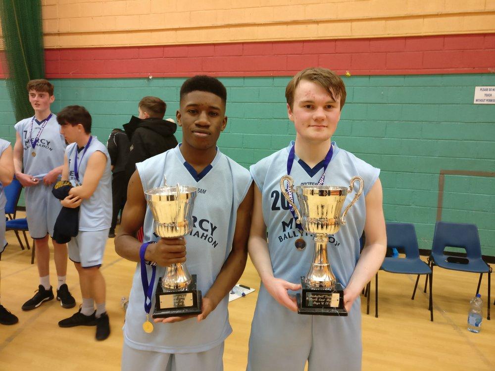Basketball U16 and U19 Regional champions