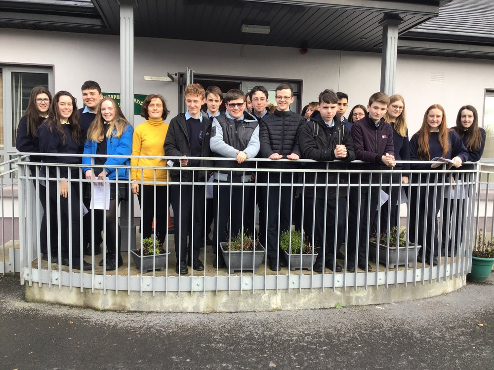 TY group who visited St Christophers.jpeg