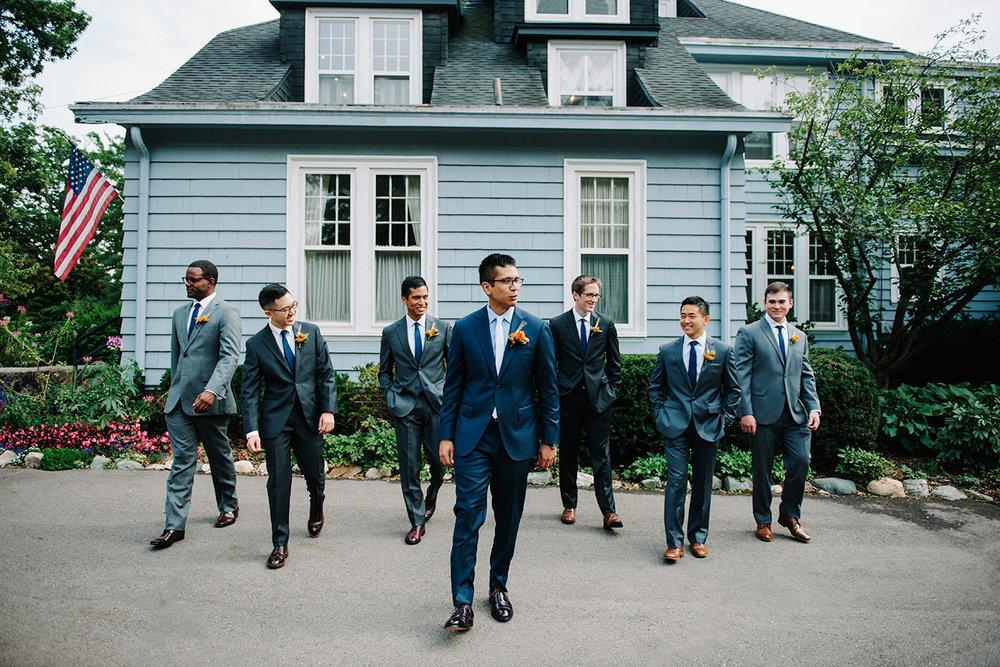 Ann Arbor City Club Wedding Photos