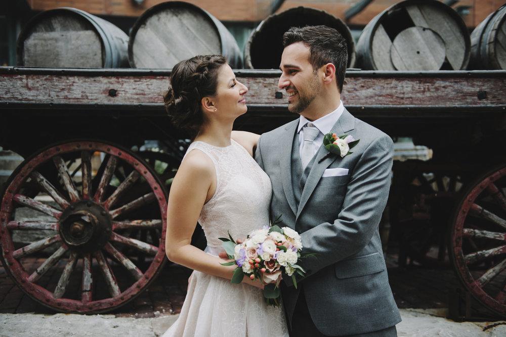 Archeo Distillery District Wedding Photos