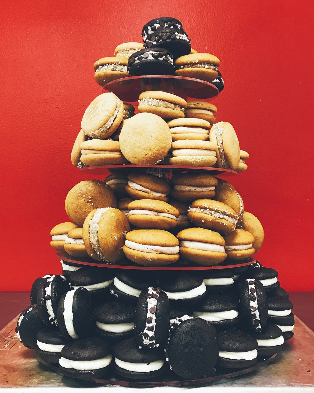 Whoopie For All!  - Be the party superhero and order a whoopie tier!Perfect for weddings, birthdays, and dessert bars!