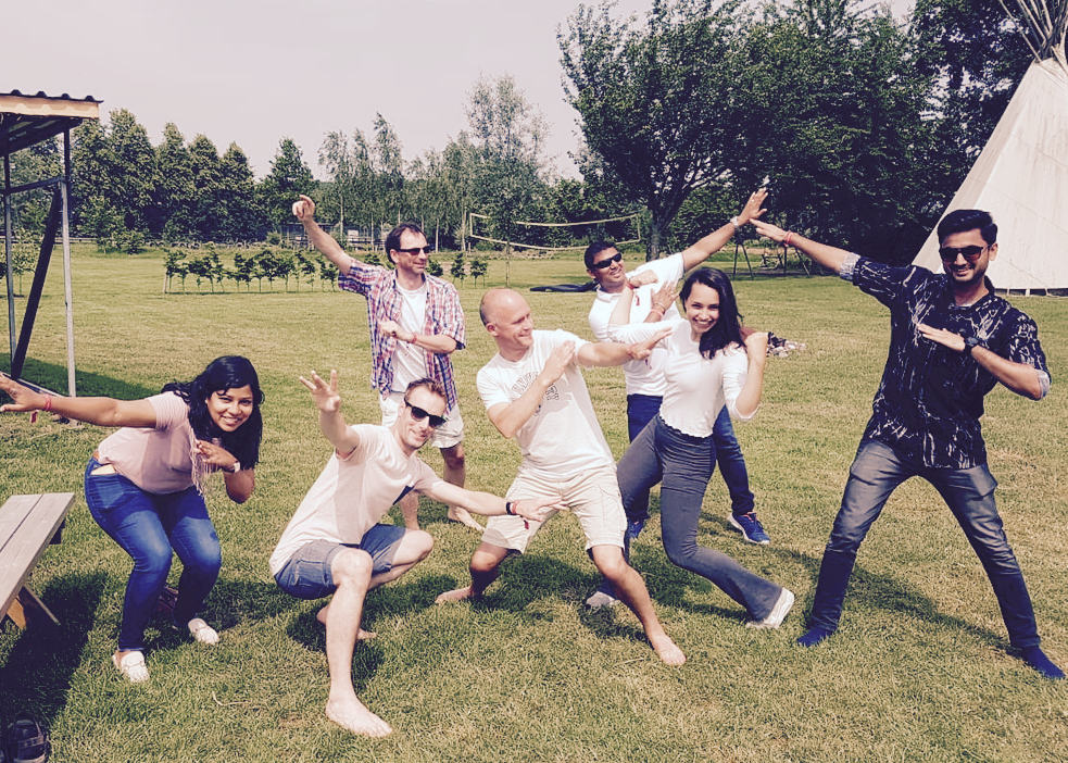 Sogeti - 8 juni 2018 - Op een warme zomerdag tijdens het Testival van Sogeti, bracht Inez de IT-professionals in beweging!