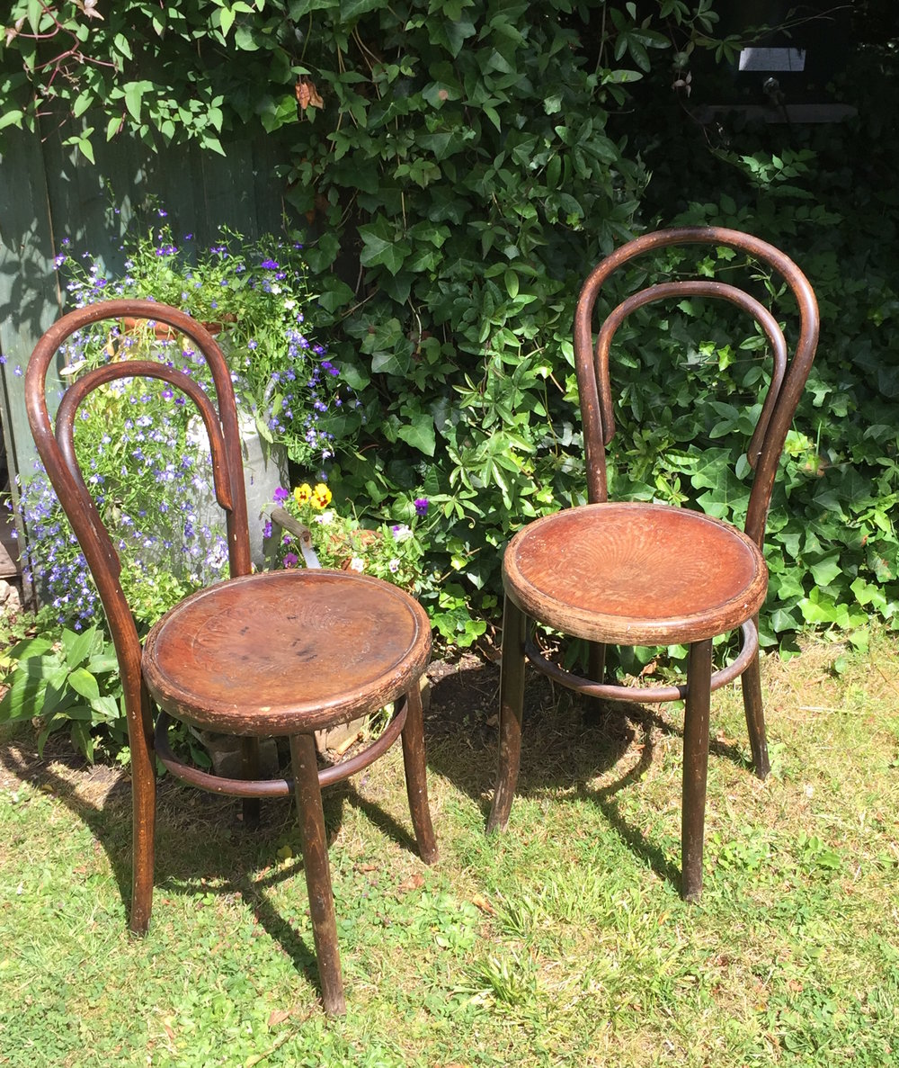 We also have a selection of original, individual chairs for hire £3