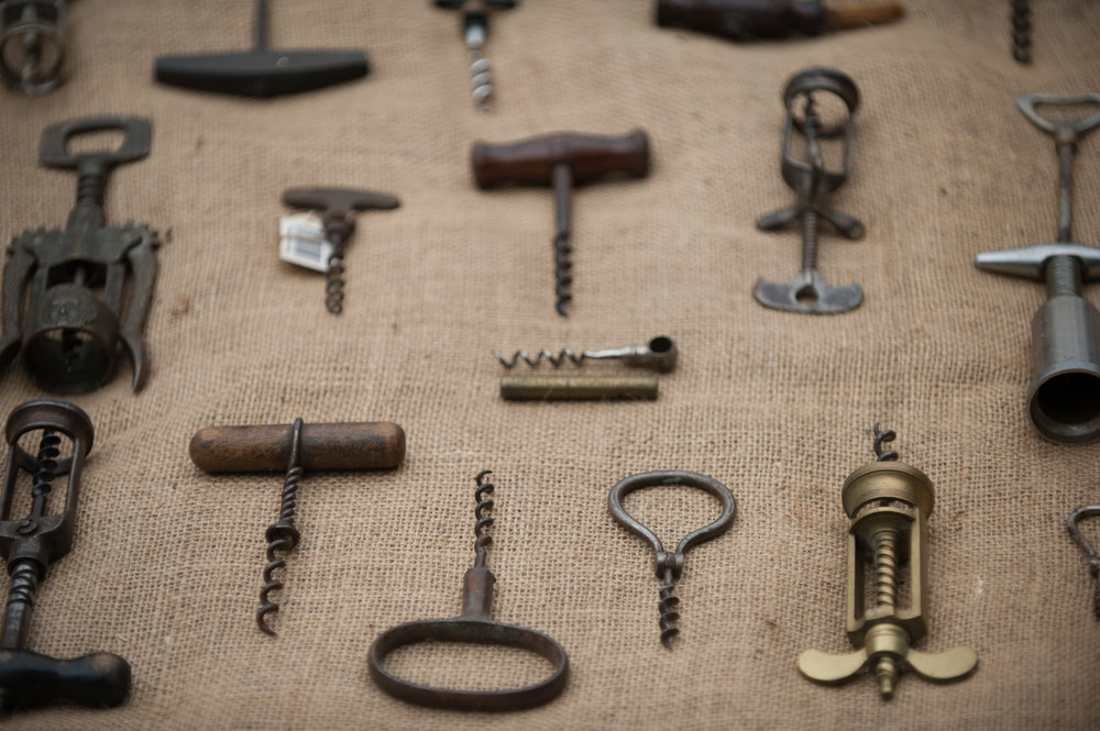 A small selection of our antique corkscrew collection