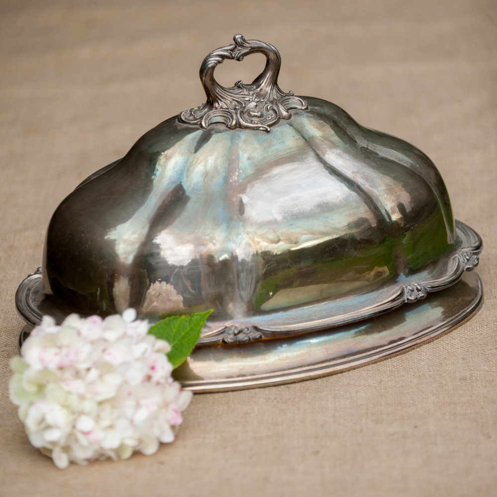 Beautiful Silver plated food cover