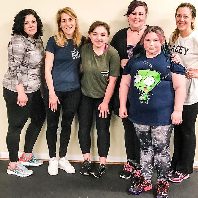 What an amazing high energy class tonight! Post workout selfies! #hiit can be for any age! Come check out a class! #whatisbeautiful #skinnyisntbeautifulhealthyis #wholetrition #morganville #paleo #lifestyle #trainhard #cardio #women #moms #eatclean #nutrition #fitness #exercise