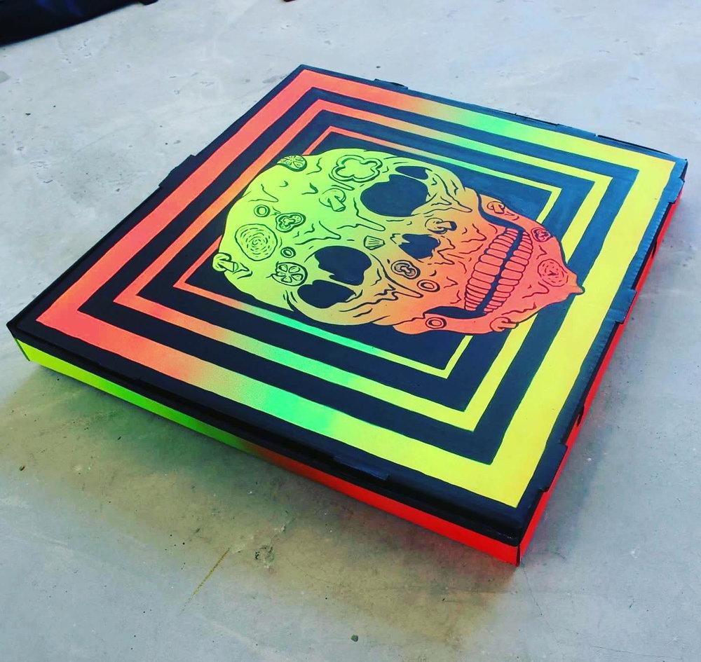 akone ak-one pizza box skull.jpg