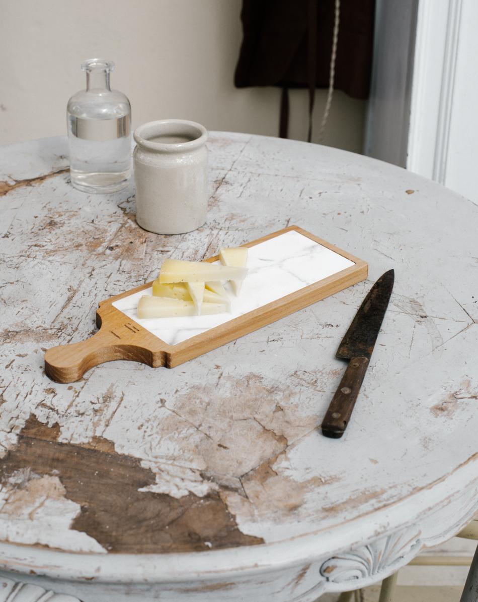 Legno e marmo irene berni for Tagliere in marmo