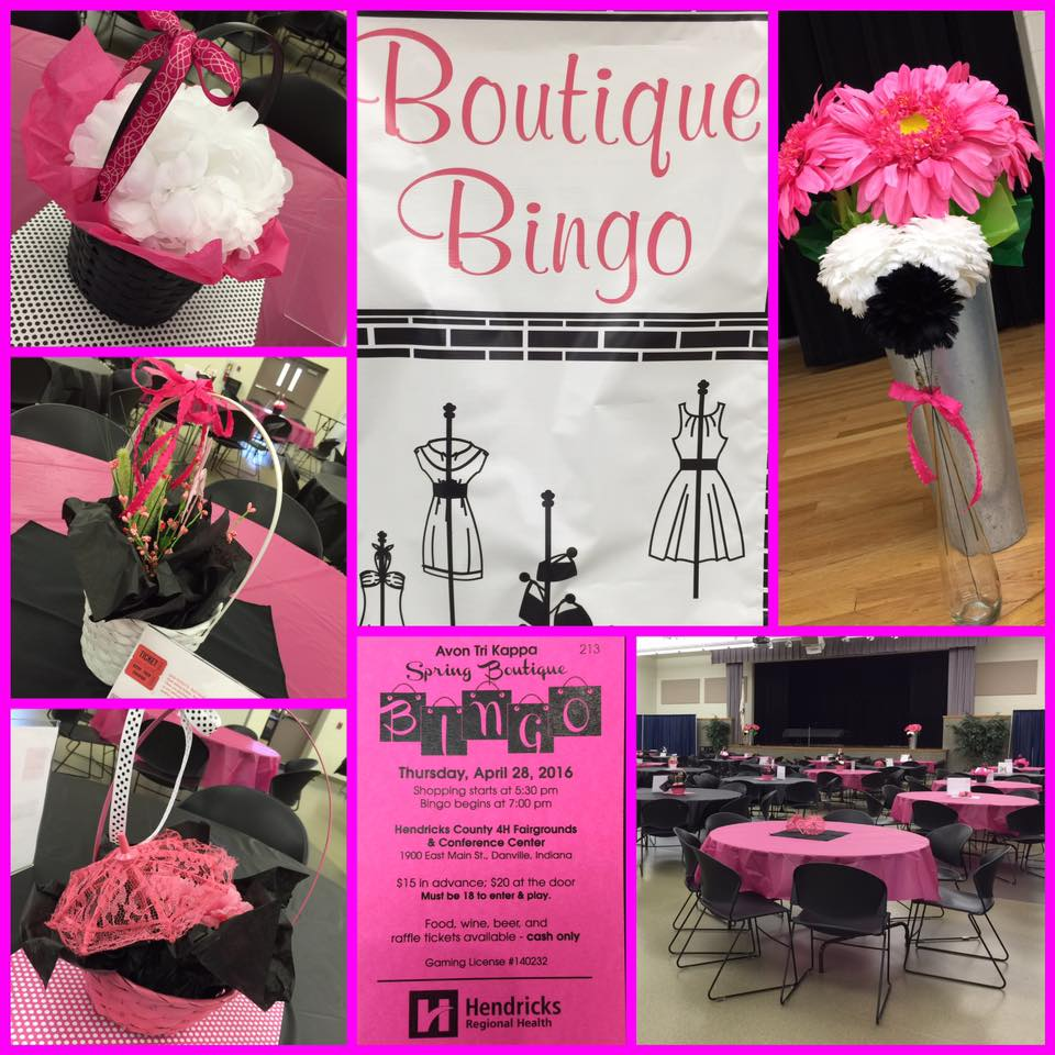 Bingo - Spring Boutique 2016
