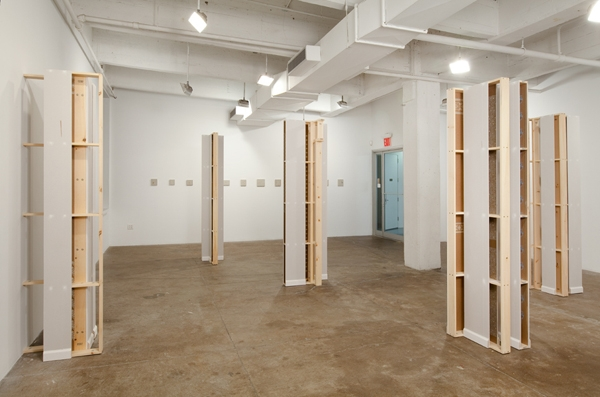 "Kirsten Nelson, ""Assembly Required"", Installation View, 2010, Frederieke Taylor Gallery, NYC"