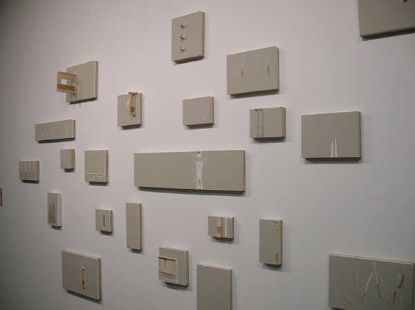 "Kirsten Nelson, ""Room Drawings"", 2006, Installation View"