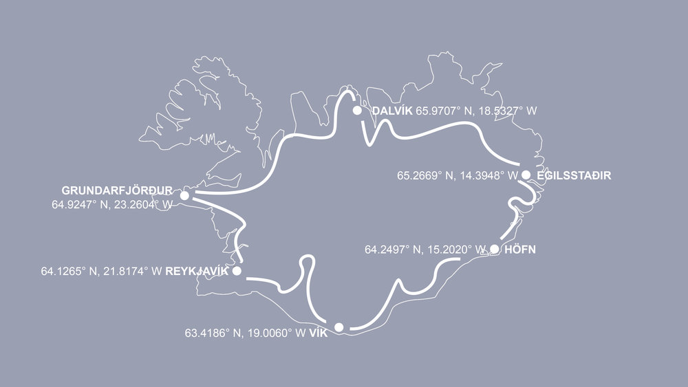Simplified itinerary