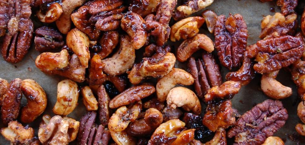 Yummy Spiced Nuts