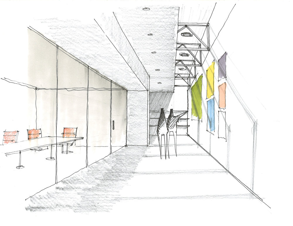 MW Offices - Interior Perspective