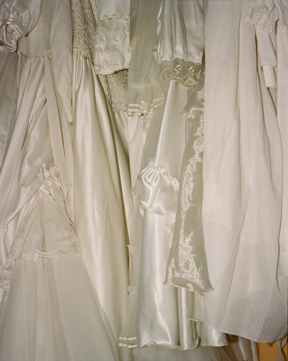 Second Hand Wedding Dresses, Poland, 2016.