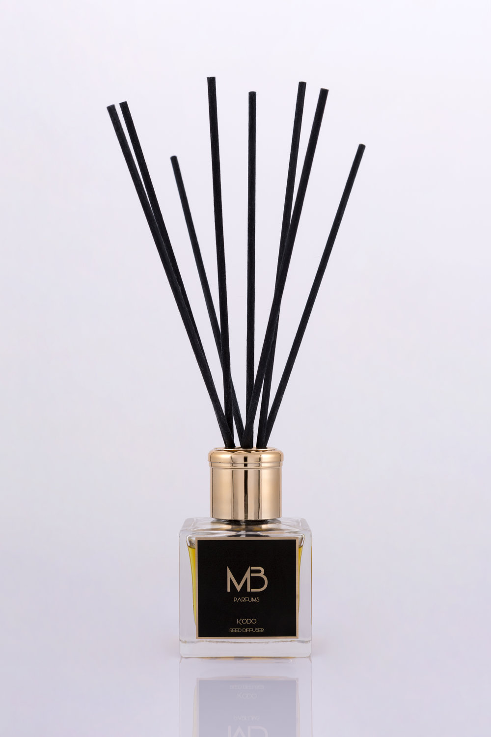 The fragrance of Kodo reed diffuser creates a serene and welcoming atmosphere.