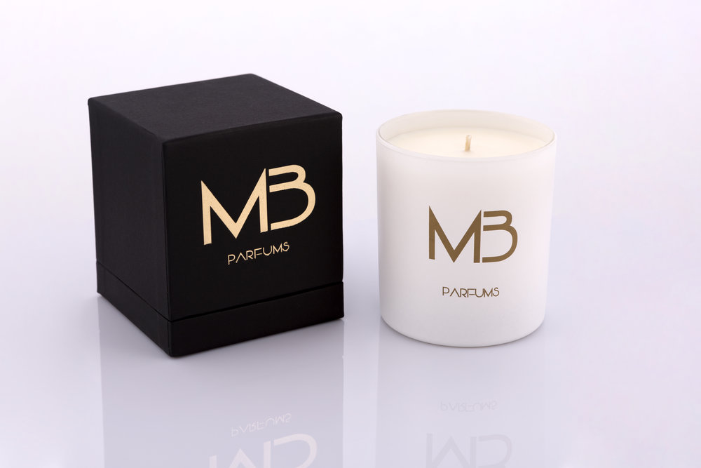 Patchouli Flower Candle, the perfect fragrance to create the mood for love.
