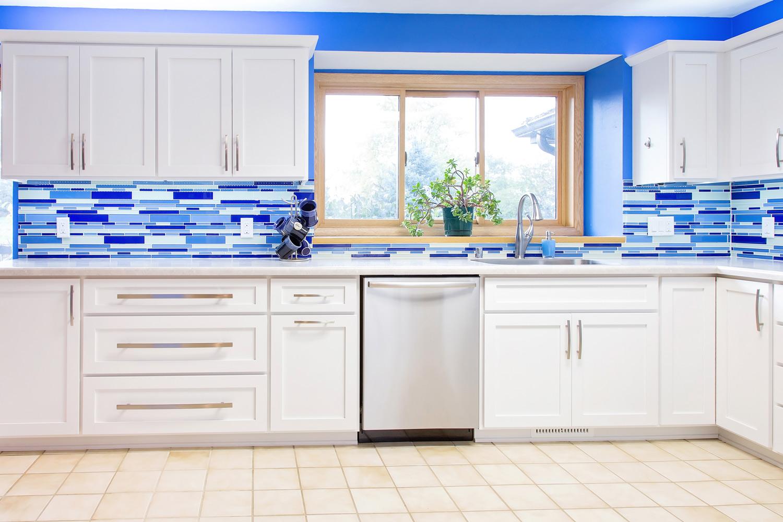 Blissful Blue Kitchen — Degnan Design-Build-Remodel