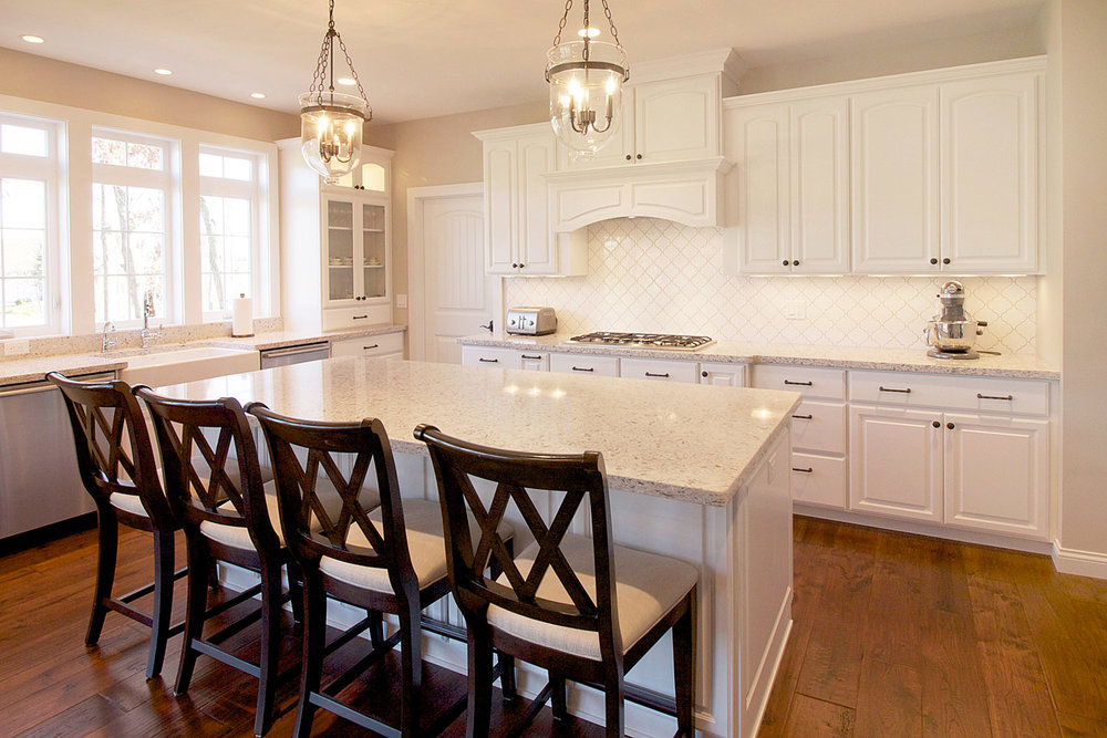 Kitchen Island Quartz Countertops