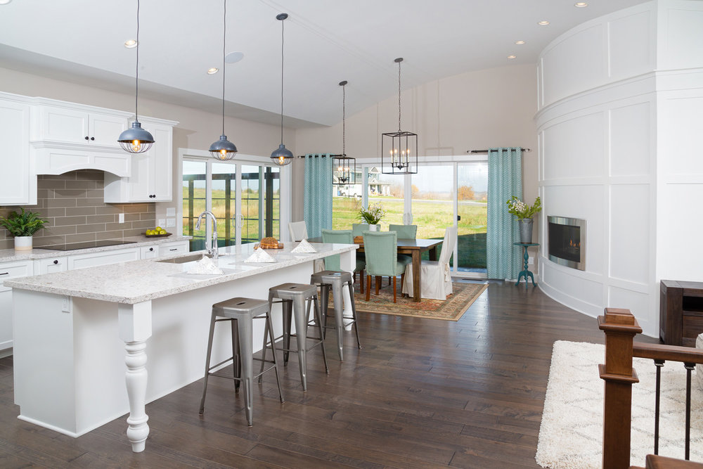 Modern Farmhouse Kitchen Degnan Design Build Remodel