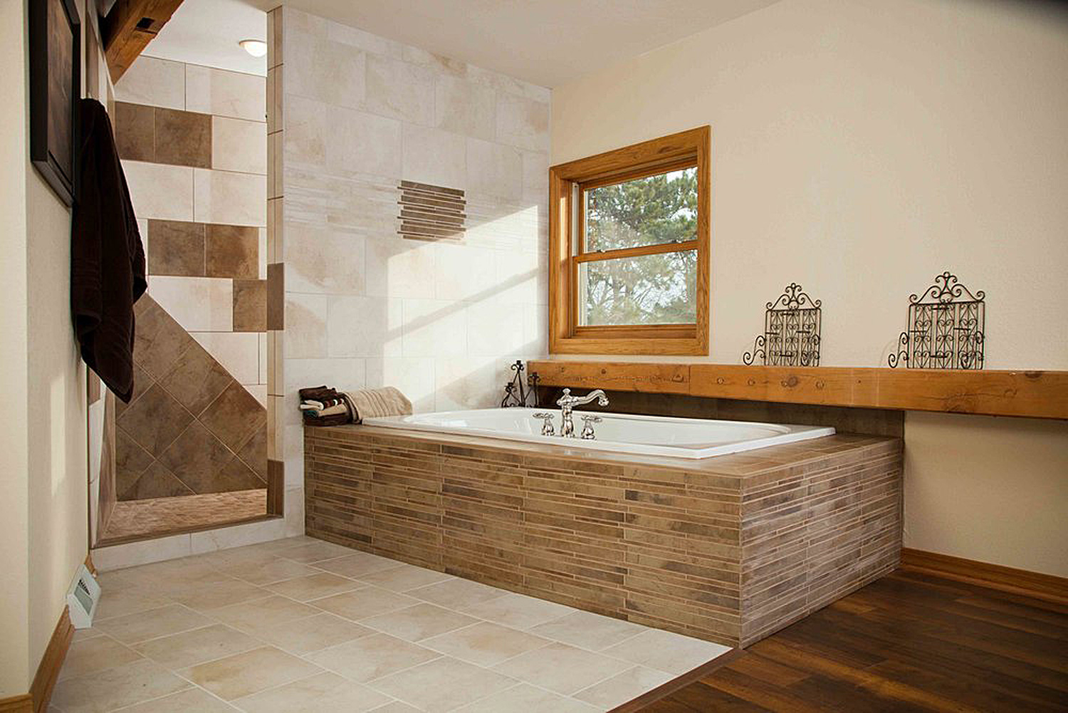 Timber Frame Master Bath — Degnan Design-Build-Remodel