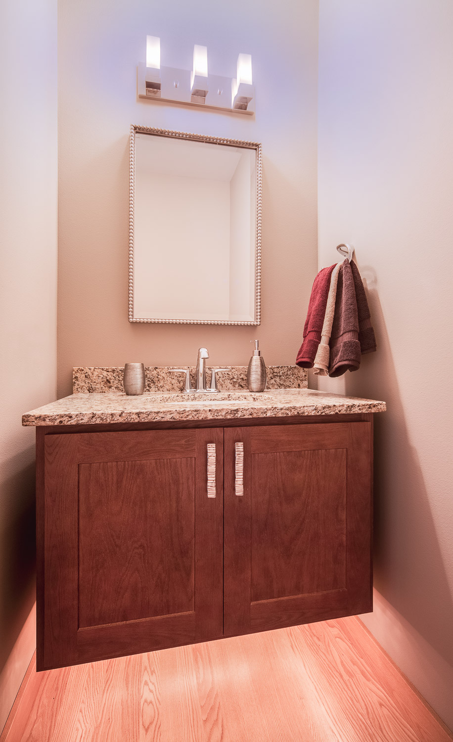 Master bath vanity, bath renovation