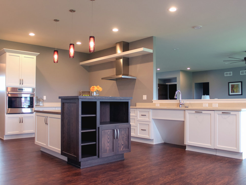 Universal Design  Kitchen Cabinetry