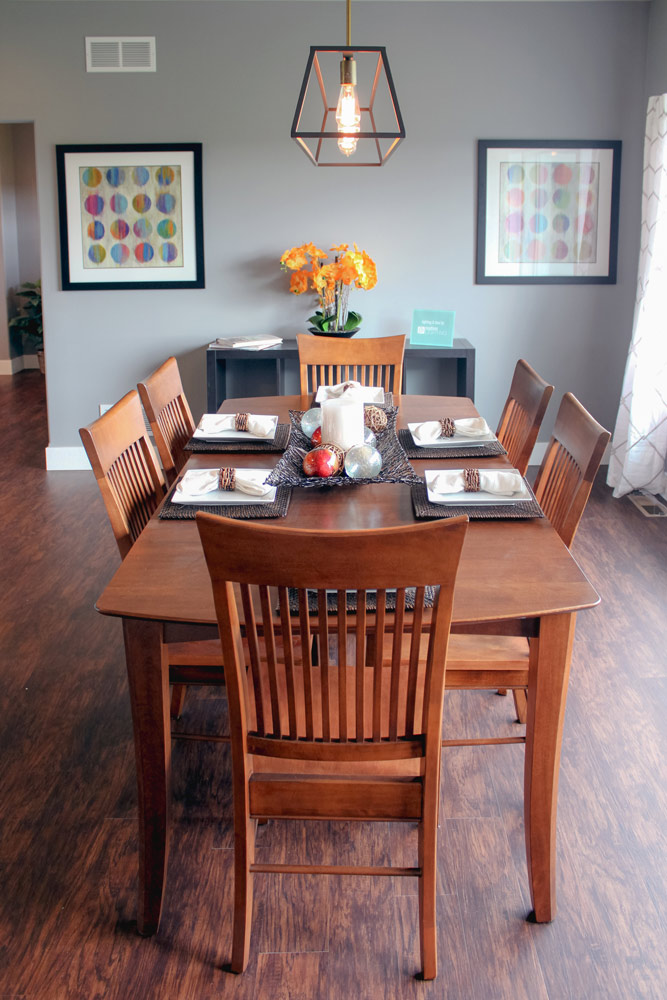 A GENEROUS Dining Room Off The Kitchen