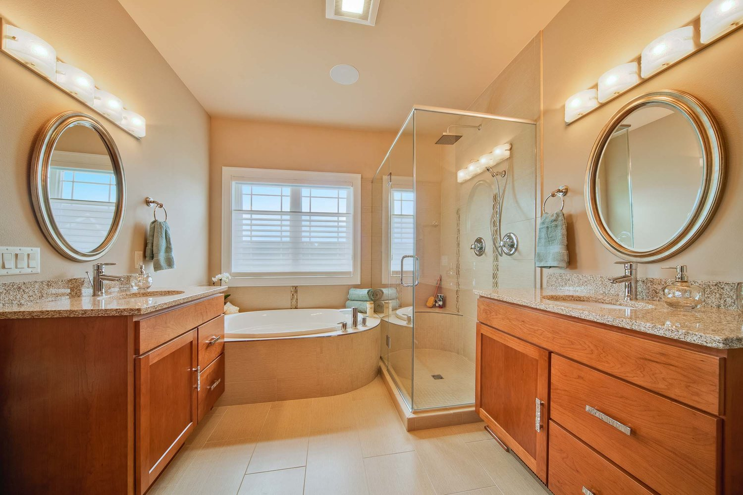 French Country Master Bath Degnan Design Build Remodel
