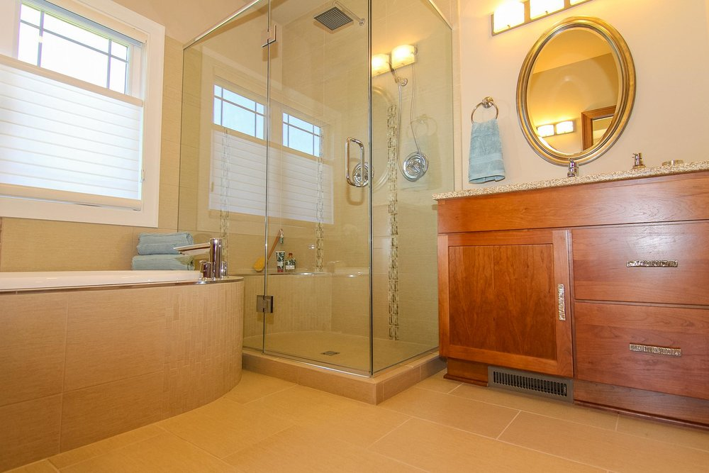 Custom Master Bath with Soaking Tub