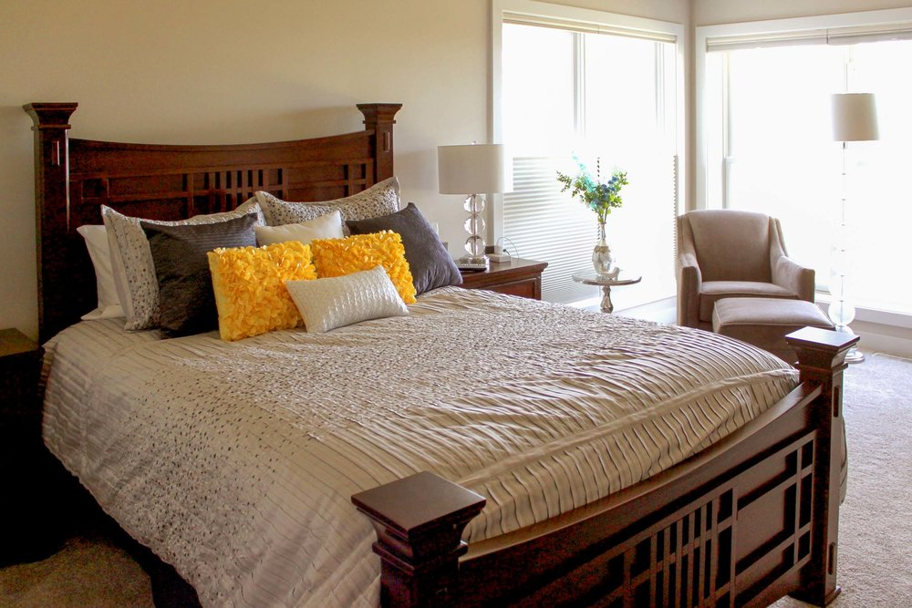 Bedroom Design With Ample Light